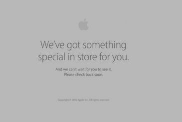 Apple Store offline, they are going to get the new MacBook
