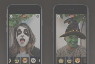 """Facebook launches """"Masks"""", filters, animated for the live broadcasts"""