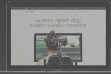 Apple announces a new page of its Internet site dedicated to the Accessibility