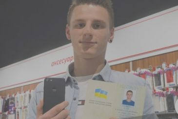 """A Ukrainian boy changes name to """"iPhone 7"""""""