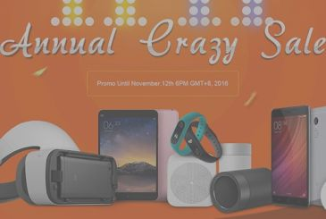 Products Xiaomi for a crazy price, every day at 11:00 on GeekBuying, until 11 November!