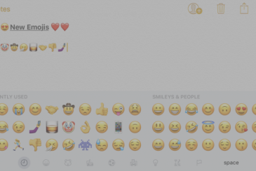 In iOS 10.2 will come of the new emoji