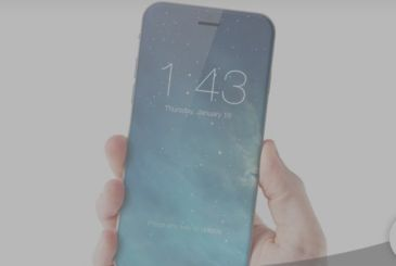 IPhone 8 may be a single block, without any external port
