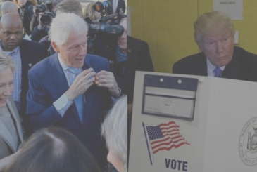 Elections USA 2016 results in real-time live: Hillary Clinton in the lead