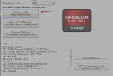 Resolve problems with video card AMD / ATI