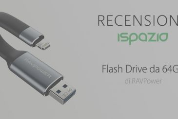 Flash Drive RAVPower 64GB: a great accessory with 3 functions in 1 | Review and Coupon