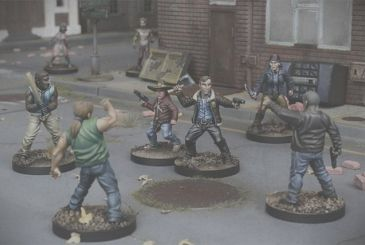 Mantic sell the last copies of the edition Kickstarter of The Walking Dead: All Out War!