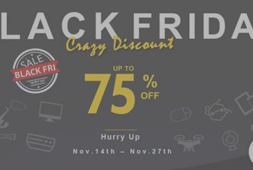 GeekBuying offers us his BlackFriday enclosing all the discounts on one page