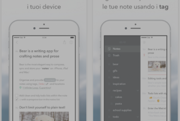 Bear, an application to better manage your notes