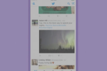 Twitter now allows you to create time from the mobile