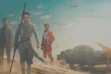 We will see the first sequences of Star Wars: Episode VIII in the spring?