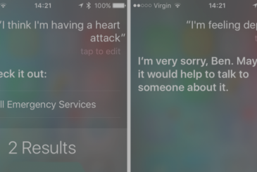 Siri improves its responses in the event of a medical emergency