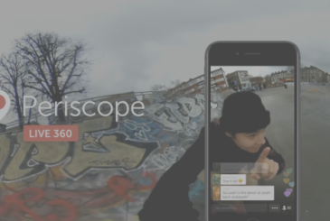 Twitter activates the live video 360 ° view through the Periscope