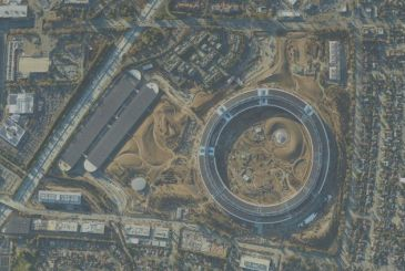 A photo from 1.7 gigapixels shows the new Campus Apple