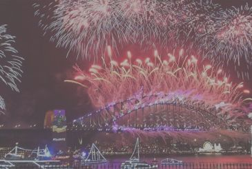 The new year's Eve as told by the pictures of the iPhone all over the world