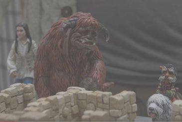 Labyrinth: Adam Savage shows us the model created at the Weta Workshop