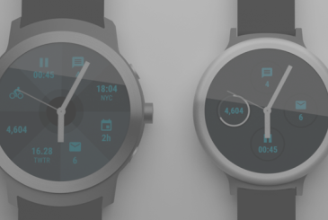LG Watch Sport Watch Style: the first smartwatch Android Wear 2.0 of the Google