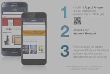 Amazon uk: get a 5 euros discount to those who login with the app