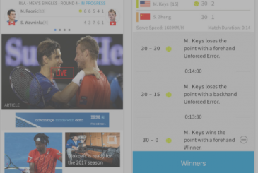 Australian Open Tennis Championships 2017: the official app to follow the tournament on the iPhone