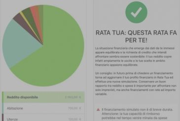 Ratatua, app for assessing the sustainability of expenses and loans