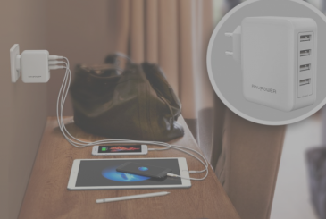 Tried the wall charger RAVPower 40W 4 USB ports [Coupons for our users]