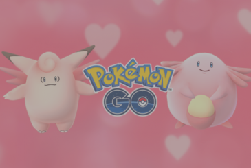The Valentine event on Pokémon Go
