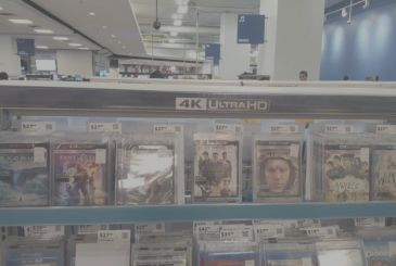 Blu-Ray Ultra HD, the titles coming in may and June