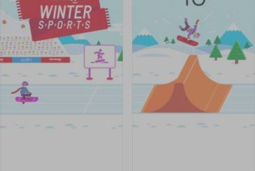 Ketchapp Winter Sports: all-new high-score-game winter