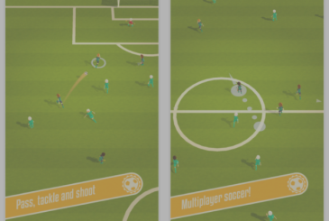 Train your team and beat opponents in a Solid Soccer