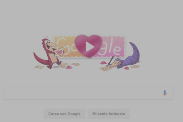 Google, a Doodle for Valentine's day