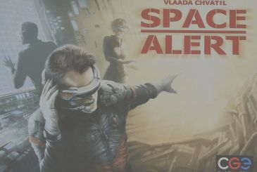 Space Alert: the chaotic space travel