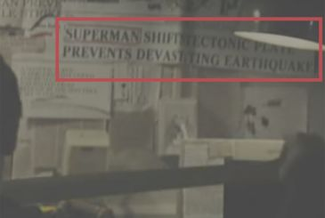 Batman v Superman: check an easter egg referring to the movie starring Christopher Reeve