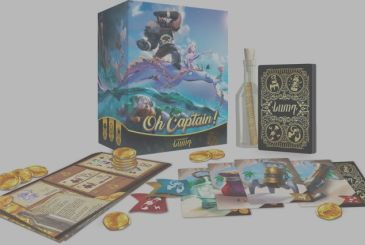 Asmodee has Oh Captain!, a new board game to shipwrecked persons, and liars!