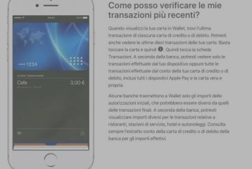 Apple has updated the support page of Apple Pay in Italy, the launch near?