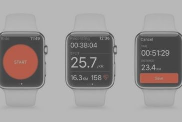 With Strava you can track running and biking directly from the Apple Watch Series 2