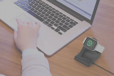 By dodocool new support for the Apple Watch with magnetic charging