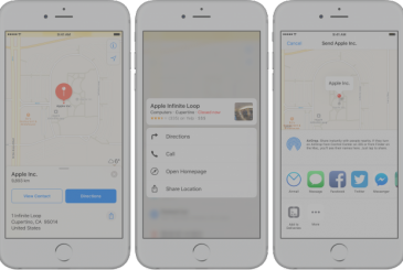 Google Maps introduces the preview of the areas through 3D Touch