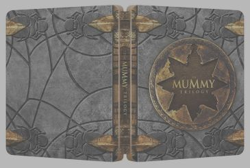 The Mummy: On Amazon comes the box set steelbook of the original trilogy!
