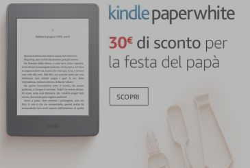 30€ discount on the Kindle Papwerwhite!