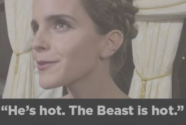 Beauty and the Beast Emma Watson is more exciting, the beast, prince