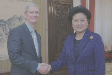 Tim Cook in China to talk about globalization and cyber security
