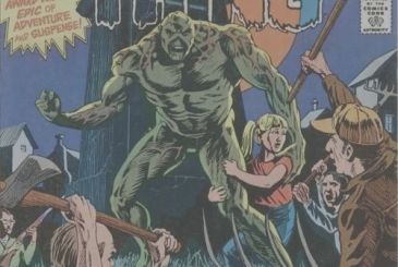 Disappeared Bernie Wrightson dad is Swamp Thing