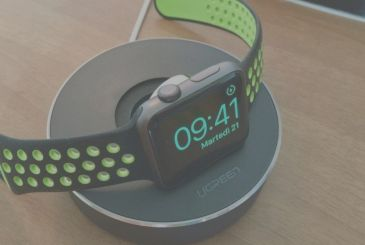 Stand for the Apple Watch and power cable in order to Ugreen