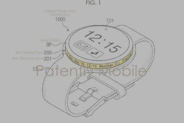 Samsung patents a smartwatch with a display in the ring