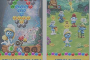 "The Smurfs are back on the App Store with ""the Story of bubbles"""