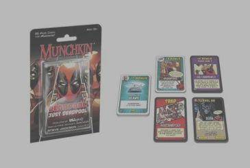 Incoming Munchking Deadpool, the new expansion for Munchking Marvel!