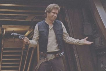 "Harrison Ford: ""I got the part of Han solo while I mounted a door!"""