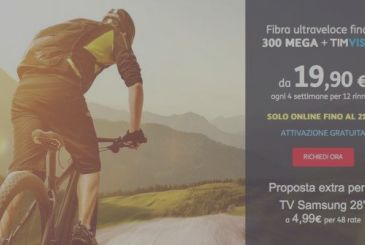 Until April 21, a discount of 120€ on the offers TIM Smart!