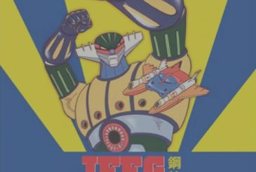 Jeeg Steel Robot: back in the newsstand the complete collection DVD