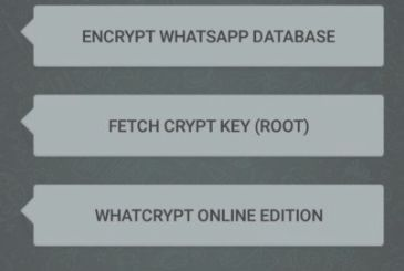 Decrypt messages and database WhatsApp